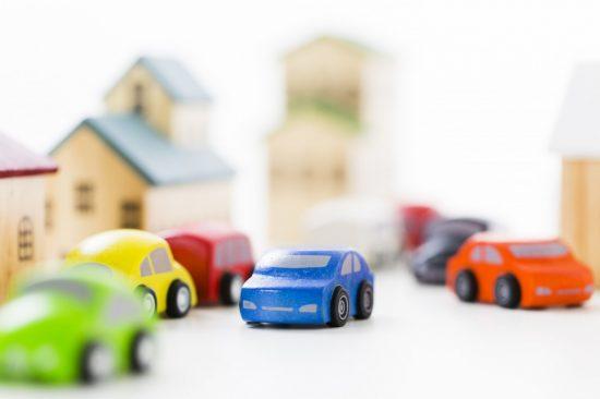 路上試験と車