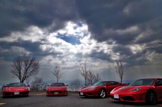 人気のフェラーリ