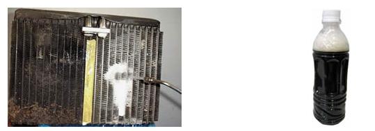 エバポレーター洗浄と廃液