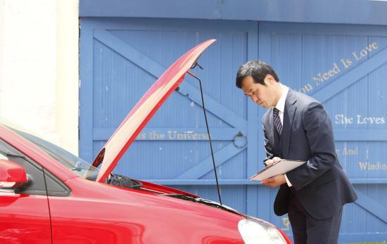 車査定の現場