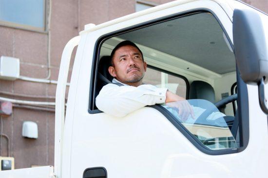 トラックの運転手