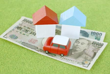 お金が無くて車と住宅を差し押さえられる